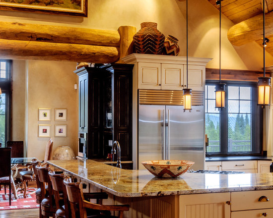 rustic kitchen design photos stainless steel appliances black rustic kitchen design ideas remodel pictures houzz