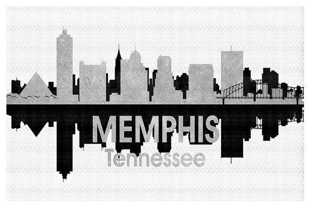 City Iv Memphis Tennessee Area Rug Contemporary