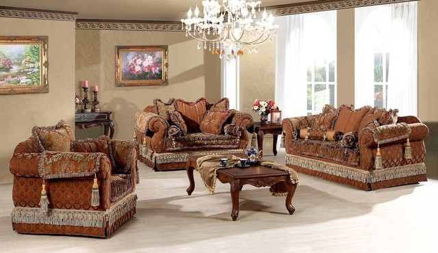 Living Room Sofas Sets Genevieve - Luxury Living Room Sofa Set