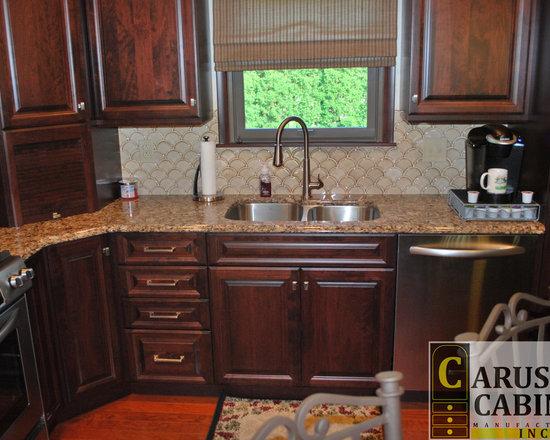 shaped kitchen design ideas remodels photos dark wood cabinets small eat kitchen design photos dark wood cabinets
