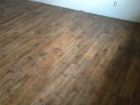 Porcelain Wood Basement Floor - Transitional - Basement ...