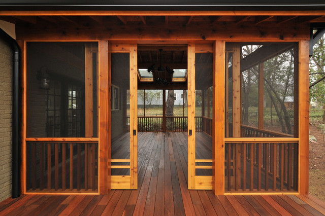 Screen Porch Doors Craftsman Screen Porch - Craftsman - Atlanta - By