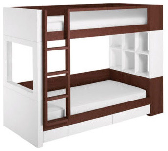 Nurseryworks Duet Bunk Bed Modern Bunk Beds By All
