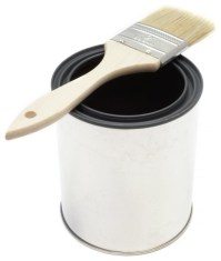 Paint Brush and Bucket - Peel and Stick Removable Graphic ...