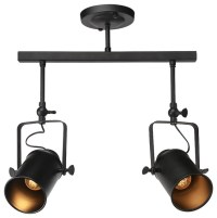 Viole 2-Light Track Lighting Ceiling Pendant - Industrial ...