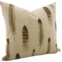 The Watson Shop - Linen Feather Throw Pillow & Reviews | Houzz