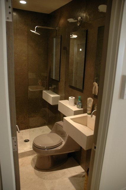 Houzz Bathroom Faucets Contemporary Condo Bath - Modern - Bathroom - Chicago - By