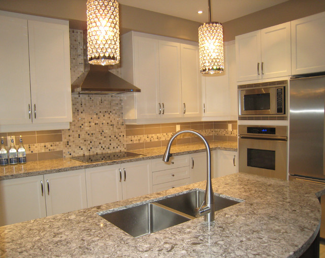 Kitchen Island For Sale Toronto Dorval Drive - Contemporary - Kitchen - Toronto - By Chic