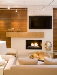 Warm Contemporary - Contemporary - Living Room ...