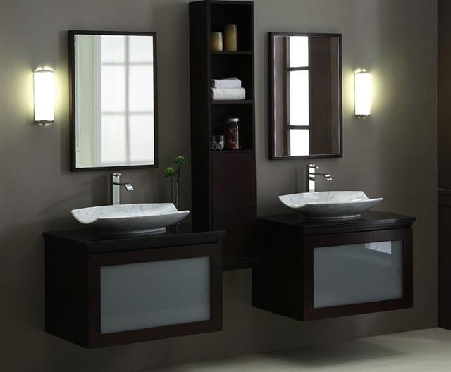Modular Bathroom Vanities - Modern - Bathroom - Los Angeles - by - designer bathroom vanities