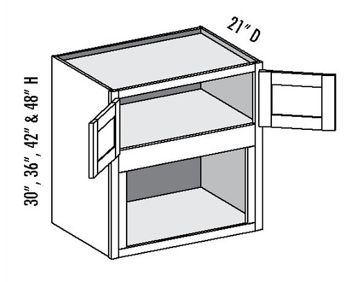 Wall Microwave Built In Or Shelf Cabinet