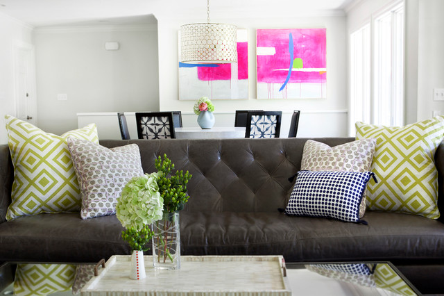 Taylors contemporary family room austin by sarah