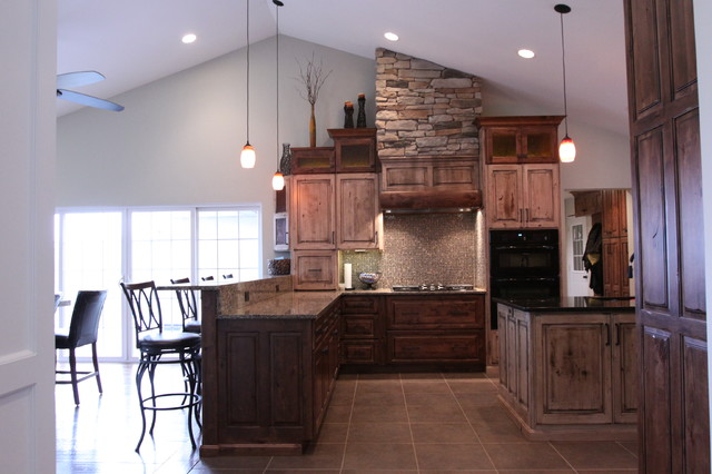 Rustic Modern Kitchen Remodel - Rustic - Kitchen - Chicago - by - rustic modern kitchen