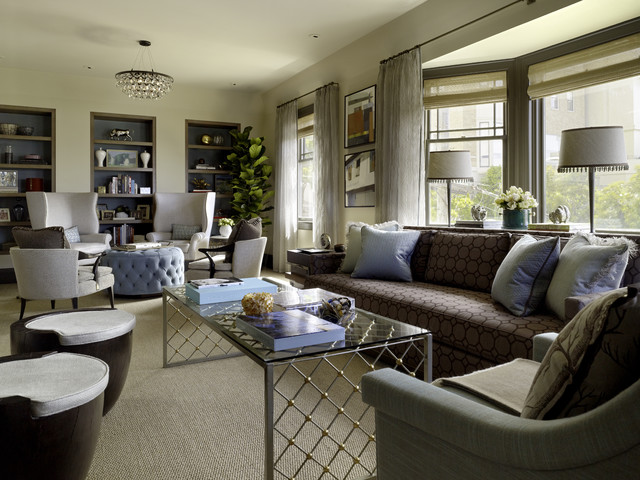 Divide And Conquer How To Furnish A Long Narrow Room