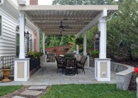 Annandale Freestanding Equinox Adjustable Roof over Patio