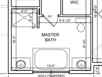 Master bath layout - tub placement