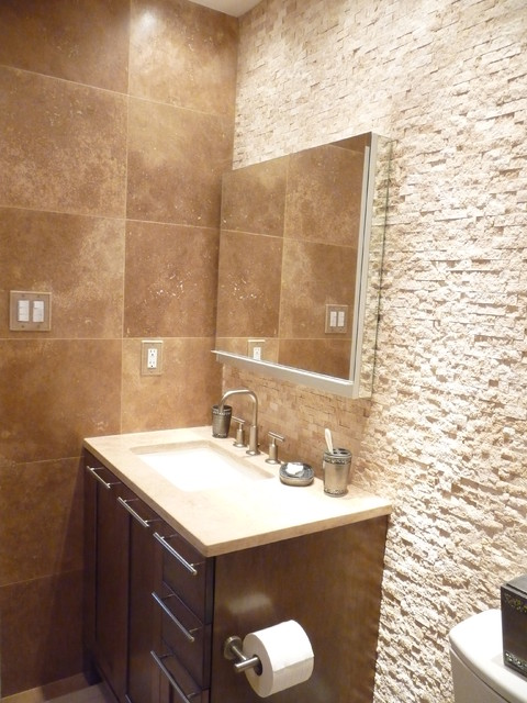 Esstisch Stone Spa Bathroom Remodel - Contemporary - Bathroom