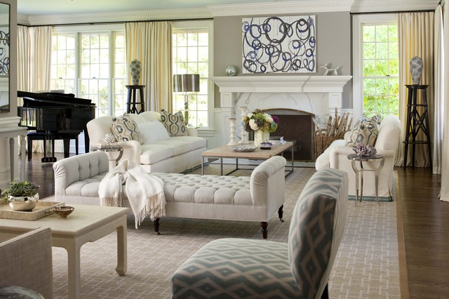 Elegant living room - Traditional - Living Room - New York - by - elegant living rooms