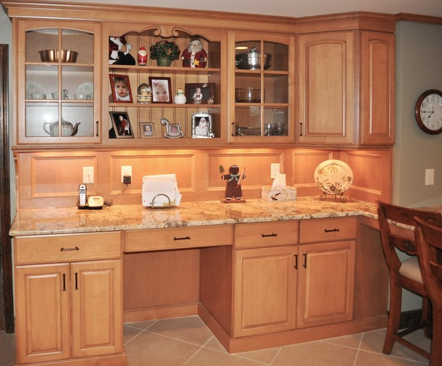 National Lumber Kitchen Cabinets Private Residence - Walpole, Ma Kitchen Remodel