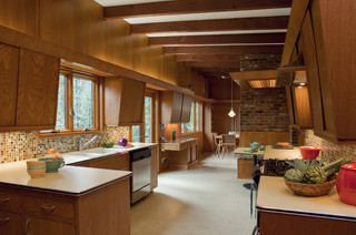 Mid-Century Modern Home midcentury-kitchen