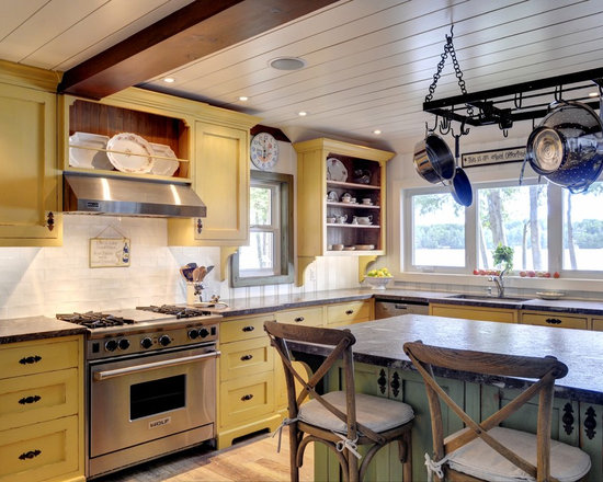mid sized rustic shaped kitchen design ideas remodels photos rustic kitchen design ideas remodel pictures houzz
