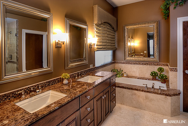 Traditional Master Bathroom Design 1 - Traditional - Bathroom - Milwaukee - by Tracy Leah ...