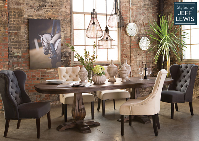 Multiuse Muse - Traditional - Dining Room - Los Angeles - by - living spaces dining room sets