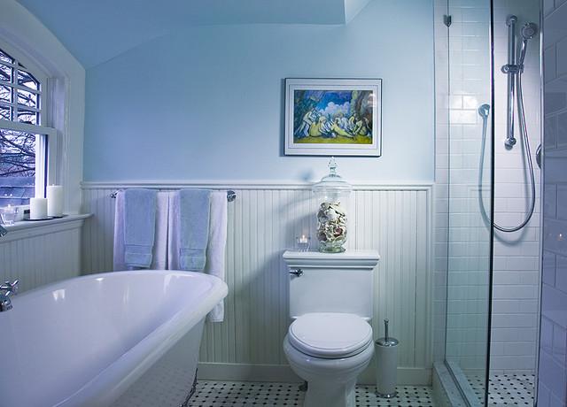 Brooklyn Victorian - Traditional - Bathroom - New York - by Shawna - traditional bathroom ideas