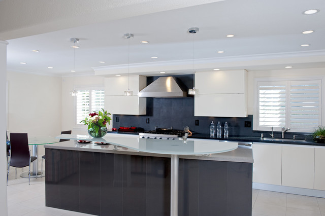 Los Gatos California Contemporary Kitchen Design - Contemporary - contemporary kitchen design