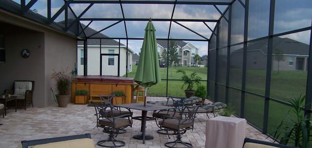 Pool Enclosures Modern Patio Jacksonville By