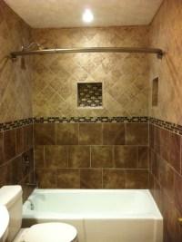 Floor to ceiling Tile bath - Traditional - Bathroom ...