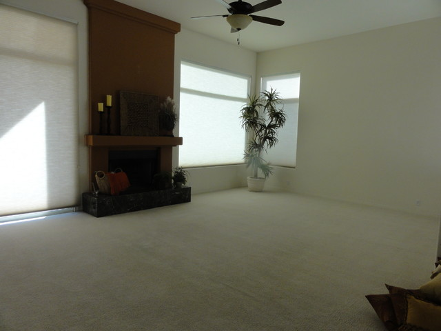 Restaging of scottsdale ranch traditional living room