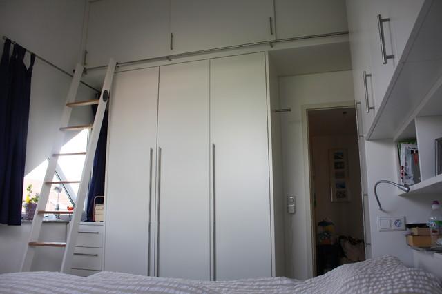 Viel Stauraum auf wenig Platz - Modern - Schlafzimmer - Sonstige - schlafzimmer ideen fr wenig platz