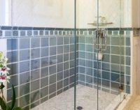 Bathroom tile configuration
