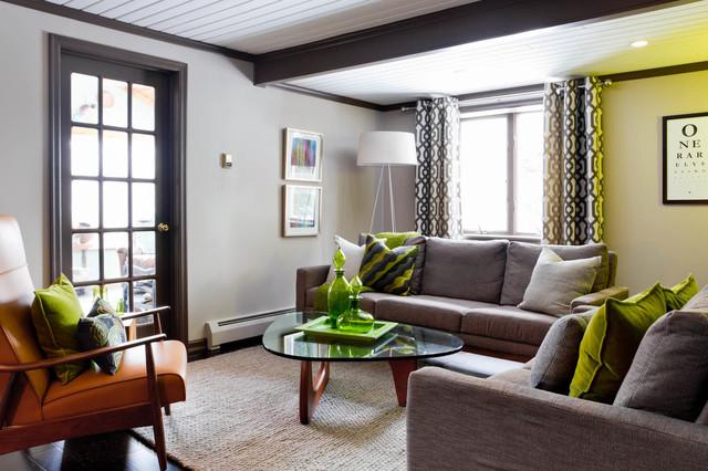 DWR Living Room Remodel - Modern - Living Room - Philadelphia - by - living room remodel