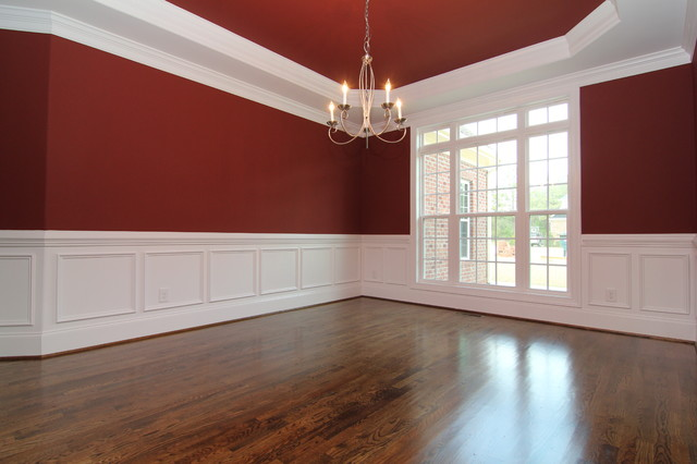 Bathroom Wainscoting Height Dining Room With Wainscoting - Traditional - Raleigh - By