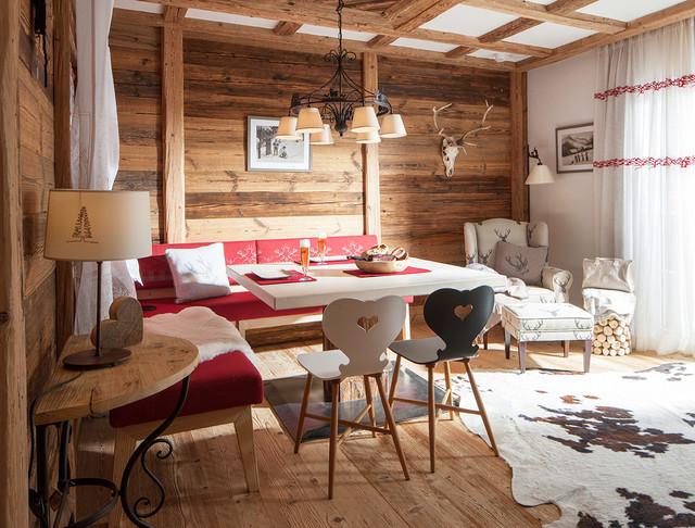 Moderner Chalet Style - Rustikal - Esszimmer - Sonstige - von BAUR - esszimmer chalet