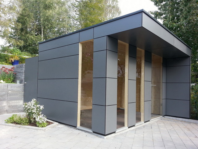Outdoor Küche Carport A2. Design Gartenhaus Box