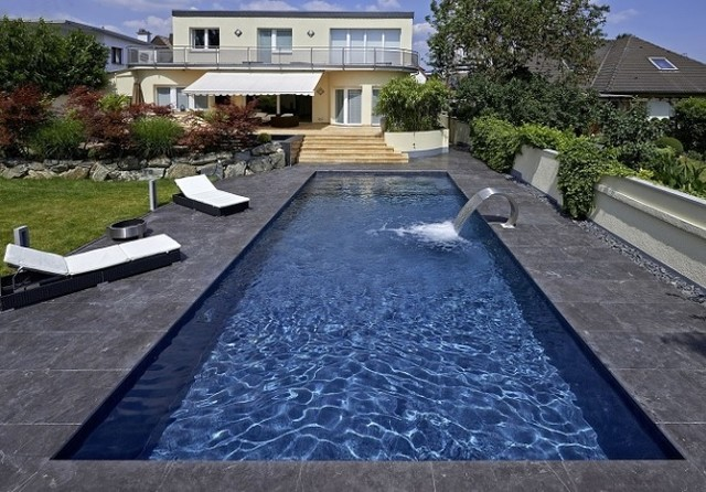 C Side Zwembad Renolit Alkorplan Touch 3000 - Contemporary - Pool