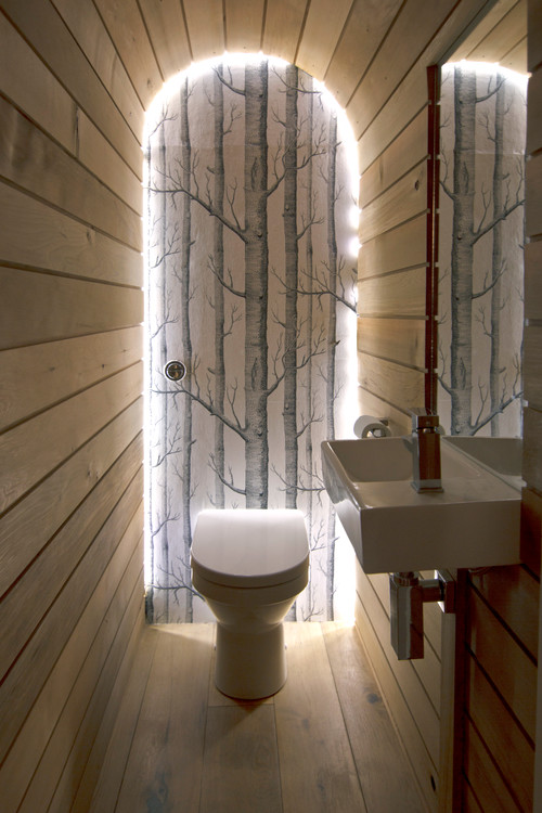 Photo by barc architects ltd discover contemporary cloakroom design