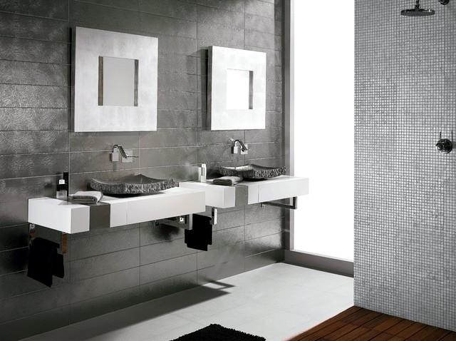 Bathroom Tile Ideas - Contemporary - Bathroom - Sydney - by Amber - bathroom tile ideas