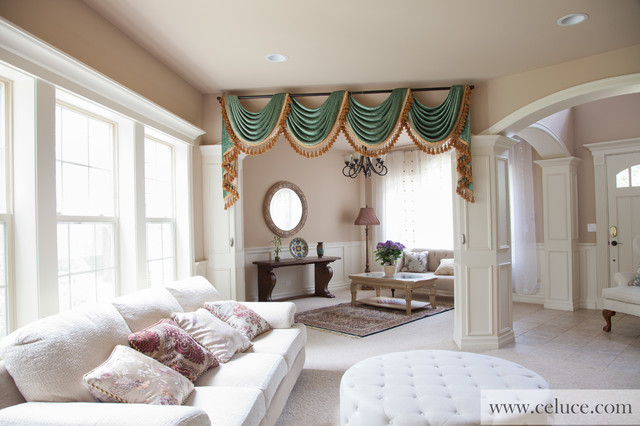 Swag Curtains For Living Room Full Image For Stupendous Valances - valances for living room