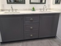 New bath w ikea Sektion cabinets (image heavy)