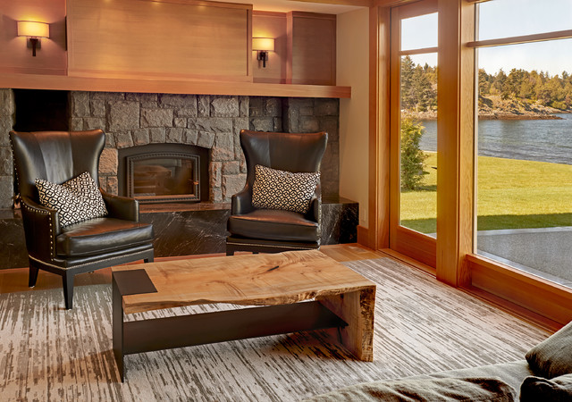 LIVE EDGE Modern Country home tour - Contemporary - Living Room - modern country living room