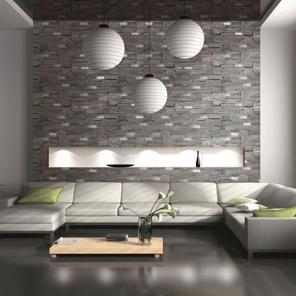 3d Brick Wallpaper South Africa Petra Dk Grey Split Face Tiles Natural Stone Wall Tiles