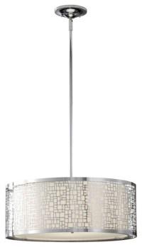 Murray Feiss F2638-3CH Joplin 3 Light Large Pendant ...