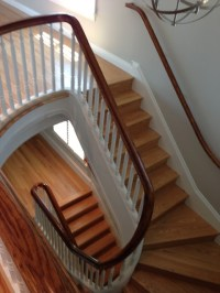 Stacked Winder Stairs - Contemporary - Staircase - DC ...