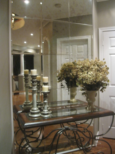 Houzz Bathroom Faucets Hallway Mirrors - Contemporary - Entry - Toronto - By