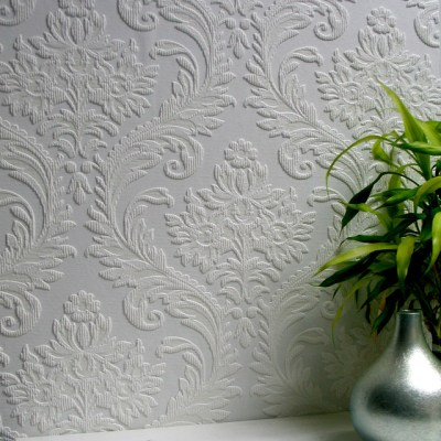 Anaglypta High Trad Paintable Textured Vinyl Wallpaper - Victorian - Wallpaper - by Brewster ...