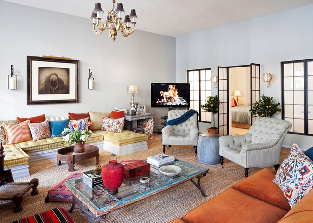 New York City Loft - Eclectic - Living Room - New York - by - living room furniture nyc